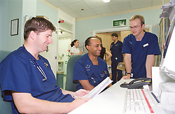 Behind the scenes of the A&E department at Sheffield Northern General Hospital