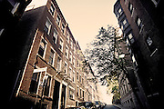 Image of Boston's North End along the Freedom Trail near the Old North Church, Boston, Massachusetts, American Northeast by Andrea Wells