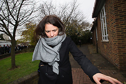 ©  London News Pictures. 29/11/2013. London, UK. Italian Elisabetta 'Lisa' Grillo, one of two sister who are the former personal assistants to Charles Saatchi and Nigella  Lawson, arriving at Isleworth Crown Court in London. The pair, who face fraud charges, are accused of misappropriating funds while working for Saatchi and Lawson. Photo credit : Ben Cawthra/LNP
