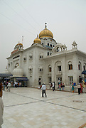 India, Delhi, Exterior of the Bangla Sahib Sikh Temple