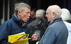 Willie Rennie, Dunfermline, 29-4-2016<br /> <br /> Tim Farron and Willie Rennie meet voters in Dunfermline<br /> <br /> (c) David Wardle | Edinburgh Elite media
