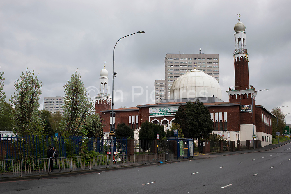 Birmingham Central Mosque in Highgate, Birmingham, United Kingdom. Birmingham Central Mosque is one of the earliest purpose-built mosques in the UK, and is run by the Birmingham Mosque Trust. The organization, Muslims in Britain classify the Birmingham Central Mosque as, Deobandi.