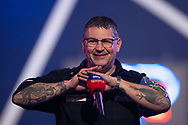 Gary Anderson interviewed following his win during the William Hill World Darts Championship Semi-Finals at Alexandra Palace, London, United Kingdom on 2 January 2021.