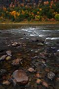 Small white rapids on the Susquehanna River