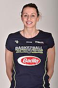 Laura Macchi<br /> Posati Nazionale Italiana Femminile Senior<br /> FIP Nazionali 2017<br /> Montegrotto Terme, 27/02/2017<br /> Foto Ciamillo-Castoria