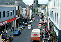 High Street, Enniskillen, Co Fermanagh, N Ireland, UK, 197809000244a..Copyright Image from Victor Patterson, 54 Dorchester Park, Belfast, United Kingdom, UK...For my Terms and Conditions of Use go to http://www.victorpatterson.com/Victor_Patterson/Terms_%26_Conditions.html