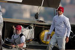 Nice, France, November 15th 2009. Louis Vuitton Trophy  Nice (7-22 November 2009) © Sander van der Borch / team Artemis. Round robin 2. Torbjorn Tornqvist.