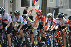 Favorite and previous winner EVELYN STEVENS of USA, with team Boels-Dolmans Cyling team is seen competing during the UCI Women's World Tour Philadelphia Cycling Classic on Sunday June 5th, 2016. Pro-cyclist compete at a 73.8miles/118.7km course in Philadelphia Pennsylvania