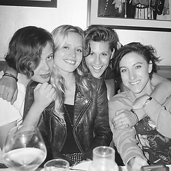 """Georgia May Jagger releases a photo on Instagram with the following caption: """"Miss you guys \ud83c\udf44 @brettgrace @tamratam @lapplefritter"""". Photo Credit: Instagram *** No USA Distribution *** For Editorial Use Only *** Not to be Published in Books or Photo Books ***  Please note: Fees charged by the agency are for the agency's services only, and do not, nor are they intended to, convey to the user any ownership of Copyright or License in the material. The agency does not claim any ownership including but not limited to Copyright or License in the attached material. By publishing this material you expressly agree to indemnify and to hold the agency and its directors, shareholders and employees harmless from any loss, claims, damages, demands, expenses (including legal fees), or any causes of action or allegation against the agency arising out of or connected in any way with publication of the material."""