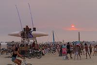 Sun About To Dip - https://Duncan.co/Burning-Man-2021