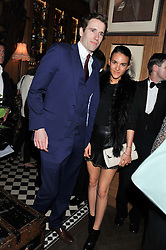 WILFRED FROST and STEPHANIE MENDOROS at a party to celebrate the launch Mr Fogg's, 15 Bruton Lane, London W1 on 21st May 2013.