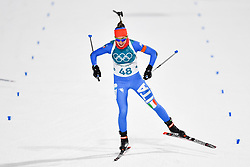 February 10, 2018 - Pyeongchang, South Korea - 180210 Lisa Vittozzi of Italy competes in Women's Biathlon 7,5 km Sprint during day one of the 2018 Winter Olympics on February 10, 2018 in Pyeongchang..Photo: Petter Arvidson / BILDBYRN / kod PA / 87614 (Credit Image: © Petter Arvidson/Bildbyran via ZUMA Press)