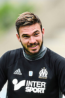 Florian Escales of Marseille during pre season Friendly match between Marseille and Ajax Amsterdam on July 20, 2016 in Beziers, France. (Photo by Alexandre Dimou/Icon Sport)