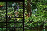 Japon, île de Honshu, région de Kansaï, Kyoto, temple Jikko-in // Japan, Honshu island, Kansai region, Kyoto, Jikko-in temple
