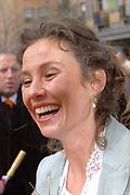 Her Majesty the queen and members of the royal family celebrate Saturday 29 April 2006 Queensday in the province flevoland in the cities  Zeewolde and almere.<br /> <br /> Hare Majesteit de Koningin en leden van de Koninklijke Familie vieren zaterdag 29 april 2006 Koninginnedag mee in de provincie Flevoland en wel in Zeewolde en Almere.<br /> <br /> On the Photo / Op dce foto: Princess Marilene in the streets of Almere / Prinses Marilene in de straten van Almere