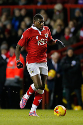 Jay Emmanuel-Thomas of Bristol City in action - Photo mandatory by-line: Rogan Thomson/JMP - 07966 386802 - 29/01/2015 - SPORT - FOOTBALL - Bristol, England - Ashton Gate Stadium - Bristol City v Gillingham - Johnstone's Paint Trophy Southern Area Final Second Leg.