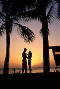 Couple in Sunset<br />