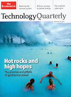 "Iceland's Blue Lagoon in ""The Economist"""