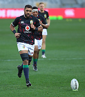 Rugby Union - 2021 British & Irish Lions Tour of South Africa - Second Test: South Africa vs British & Irish Lions<br /> <br /> Taulupe Faletau during warm up, at Cape Town Stadium, Cape Town.<br /> <br /> COLORSPORT / JOHAN ORTON