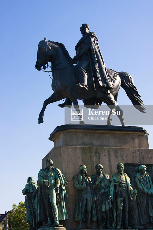 Statue of Emperor Wilhelm, Cologne, Germany
