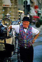 Fiacre (carriage) driver, Vienna, Austria