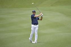 October 12, 2018 - Kuala Lumpur, Malaysia - Gary Woodland of the USA hits a shot during the second round of 2018 CIMB Classic golf tournament in Kuala Lumpur, Malaysia on October 12, 2018. (Credit Image: © Zahim Mohd/NurPhoto via ZUMA Press)