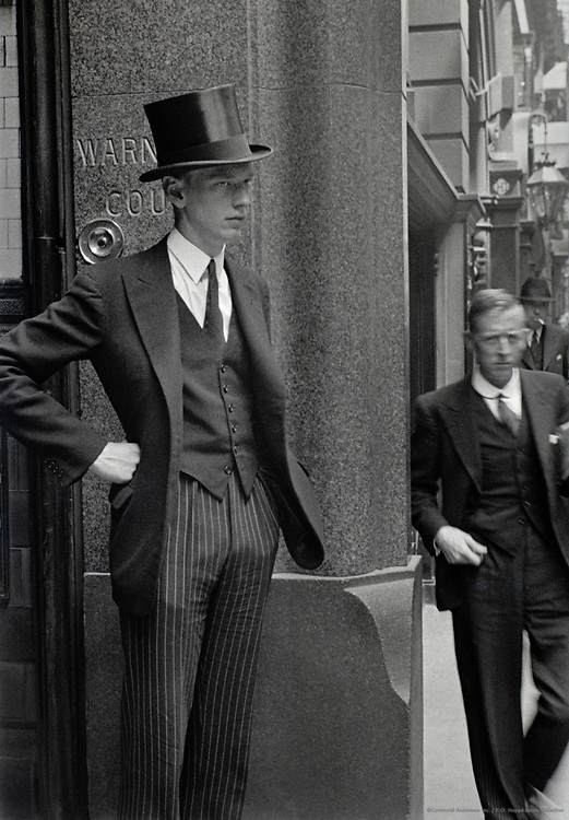 Shorters Court, Throgmorton Street, London, 1937