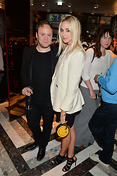NICHOLAS KIRKWOOD and PRINCESS ELISABETH THURN & TAXIS at the opening of Roksanda - the new Mayfair Store for designer Roksanda Ilincic at 9 Mount Street, London on 10th June 2014.
