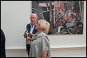 FRANK DUNPHY; LANA DUNPHY; , Royal Academy of Arts Summer Exhibition 2014. Piccadilly. London. 4 June 2014.