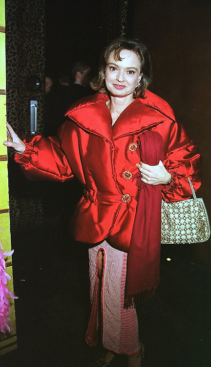 COUNTESS MAYA VON SCHONBURG at a party in London on 17th February 2000.OBF 9