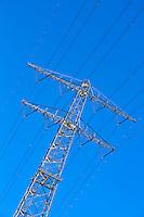 AMSTERDAM - Elektriciteitsmast.  ANP COPYRIGHT KOEN SUYK