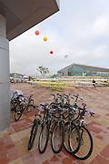 Chungju, South Korea, General Views Boating area. 2013 FISA World Rowing Championships,  at the Tangeum Lake International Regatta Course. 08:38:47  Saturday  24/08/2013 [Mandatory Credit. Peter Spurrier/Intersport Images]