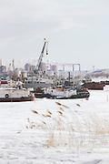 Harbour, Khabarovsk.Siberia, Russia