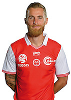Antoine Devaux of Reims during the photocall of Reims for new season of Ligue 2 on September 29th 2016 in Reims<br /> Photo : Stade de Reims / Icon Sport