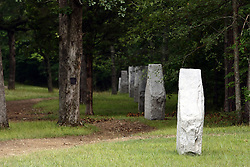 July 2007: Monuments of Valor at the Chickamauga National Park in Georgia. There are hundreds of memorials and markers throughout the park.  They tell the story of the battle, show positioning, and honor those who were engaged in the battle. Attractions near Chattanooga Tennessee. Point Park, National Park Service - Lookout Mountain, TN.