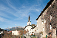The small town of Gmünd at the confluence of the River Lieser and the River Malta, Alpe Adria Trail, Carinthia, Austria (November 2015) © Rudolf Abraham