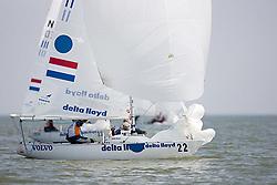 08_001755 © Sander van der Borch. Medemblik - The Netherlands,  May 22th 2008 . Second day of the Delta Lloyd Regatta 2008.