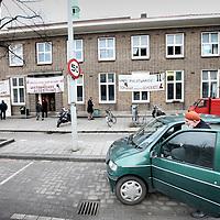 Nederland, Amsterdam , 18 februari 2010..De Westermoskee, Aya Sofia moskee  aan de Postjesweg bij het Rembrandtpark...Foto:Jean-Pierre Jans