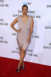 "Daphne Wayans at the Paramount Pictures And Pure Flix Entertainment's ""Same Kind Of Different As Me"" Premiere held at the Westwood Village Theatre on October 12, 2017 in Westwood, California, USA (Photo by Art Garcia/Sipa USA)"