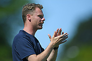Hamilton Wanderers assistant coach Kale Herbert in the Handa Premiership football match, Hawke's Bay United v Hamilton Wanderers, Bluewater Stadium, Napier, Sunday, November 15, 2020. Copyright photo: Kerry Marshall / www.photosport.nz