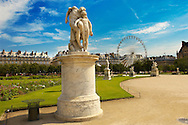 Paris - France -Jardin des Tuileries-Statue .<br /> <br /> Visit our FRANCE HISTORIC PLACES PHOTO COLLECTIONS for more photos to download or buy as wall art prints https://funkystock.photoshelter.com/gallery-collection/Pictures-Images-of-France-Photos-of-French-Historic-Landmark-Sites/C0000pDRcOaIqj8E