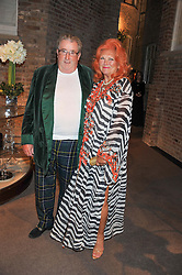 SIR WILLIAM & LADY McALPINE at a dinner hosted by Asprey for The Woodland Trust in support of the Jubilee Woods Project, held at Asprey, 167 New Bond Street, London on 22nd November 2012.
