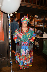 CAMILLA BATMANGHELIDJH at a party hosted by Camila Batmanghelidjh for Kids Company held at The Ivy Market Grill, 1 Henrietta Street, Covent Garden, London on 23rd November 2014.