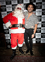 Nate James at the Hard Rock Cafe celebrity-studded Christmas party for children's charity Fight For Life LONDON, 2 December 2019
