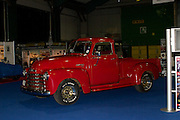 RIAC Classic Car Show 2013, RDS, 1950 Chevrolet 3100 Half Ton Pick-Up. The 1950 model, owned by Joe Keenan, was a radically improved design on the original truck which debuted in 1947. Irish, Photo, Archive.