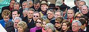 WASHINGTON, D.C. - Among those watching are Sen. Elizabeth Dole, Sen. Rick Santorum, U.S. Sen. Dick Durban, Sen. Arlen Specter, U.S. Rep. Nancy Pelosi, Sen. Jon Kyl, Sen. Mitch McConnell, Sen. Chuck Grassley, Sen. Chuck Schumer, Sen. Joe Lieberman and Sen. Carl Levin.  Inauguration ceremonies for the second term of President George W. Bush at the U.S. Capitol, along the National Mall and along Pennsylvania Avenue on January 19, 2005 and January 20, 2005. Photography ©DONNA FISHER/The Morning Call
