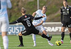 Philip Rejnhold (FC Helsingør) under kampen i 1. Division mellem FC Helsingør og Kolding IF den 24. oktober 2020 på Helsingør Stadion (Foto: Claus Birch).