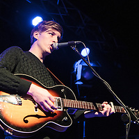 George Ezra performing live supporting Tom Odell at Manchester Academy, Manchester, 2013-10-19