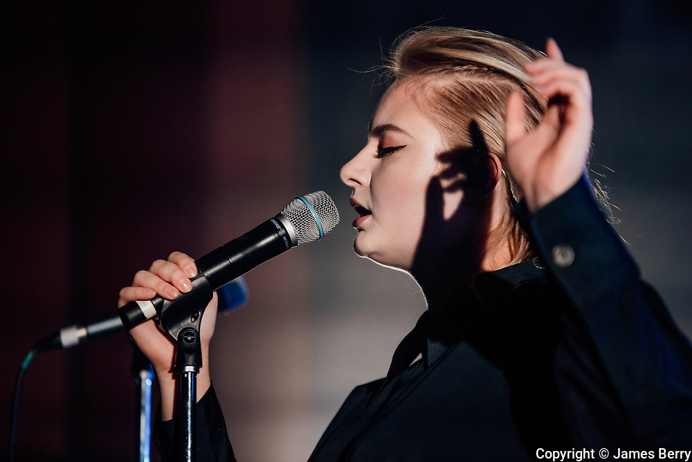 Lapsley performs live at Shepherds Bush Empire, London, on Wednesday 19 October 2016.