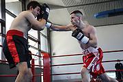 Boxen: Giants Professional Boxing, Session 3, Hamburg, 17.04.2021<br /> Alexander Pavlov (GER) - Marius Mertig (GER)<br /> © Torsten Helmke